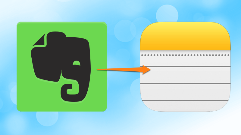 Illustration for article titled Transfer Your Notes from Evernote to Apple Notes with This Script