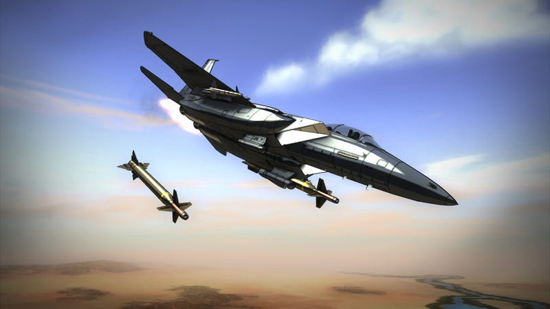 Illustration for article titled Vector Thrust is Gorgeous, Unfinished