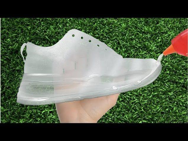 No One Needs Hot Glue Shoes