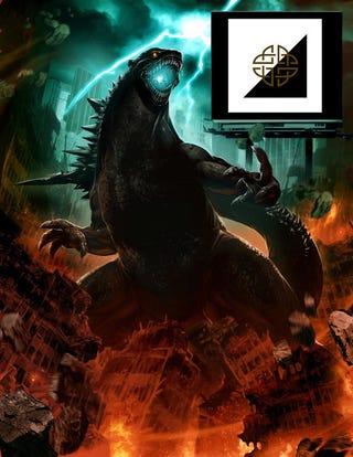 Illustration for article titled New Godzilla design!