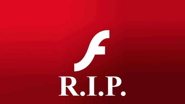 Microsoft Is Cutting the Adobe Flash Cord in July