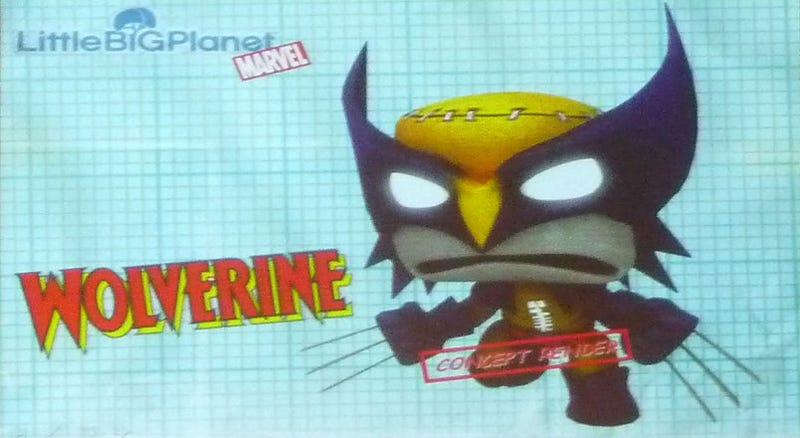 Illustration for article titled Marvel Super Hero Sackboys Coming To LittleBigPlanet