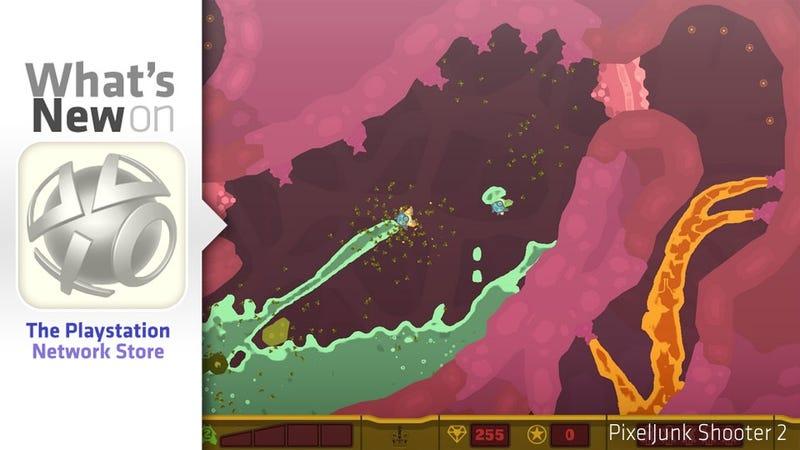 Illustration for article titled PlayStation Store Update: PixelJunk, Dead Space & Vagrancy