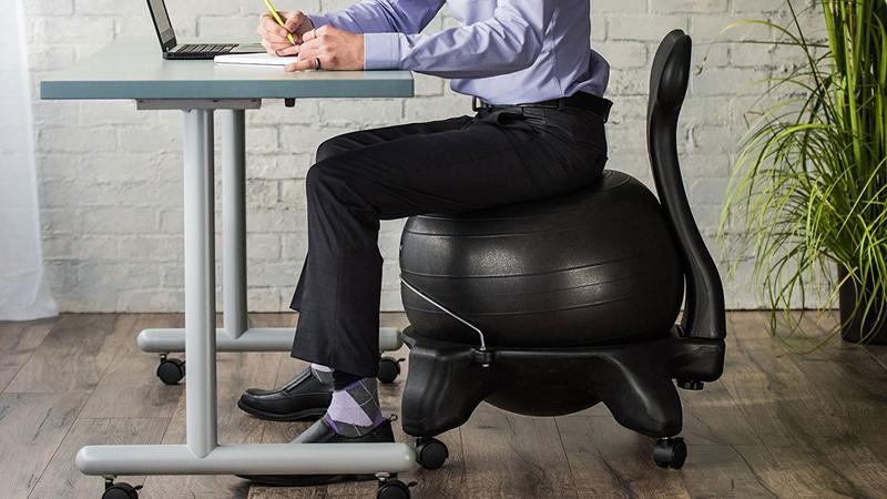 Gaiam Balance Ball Chair | $56 | Amazon