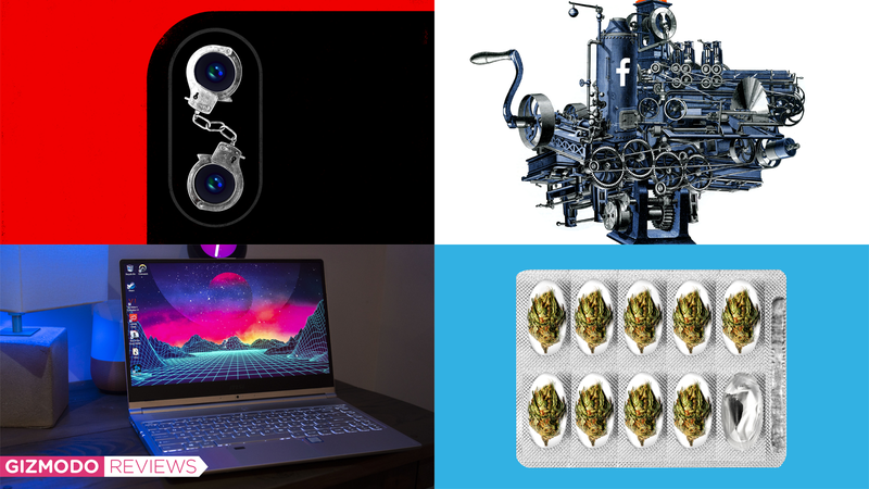 Illustration for article titled Facebook Vigilantes, Ugly Laptops, and Red Tide: Best Gizmodo Stories of the Week