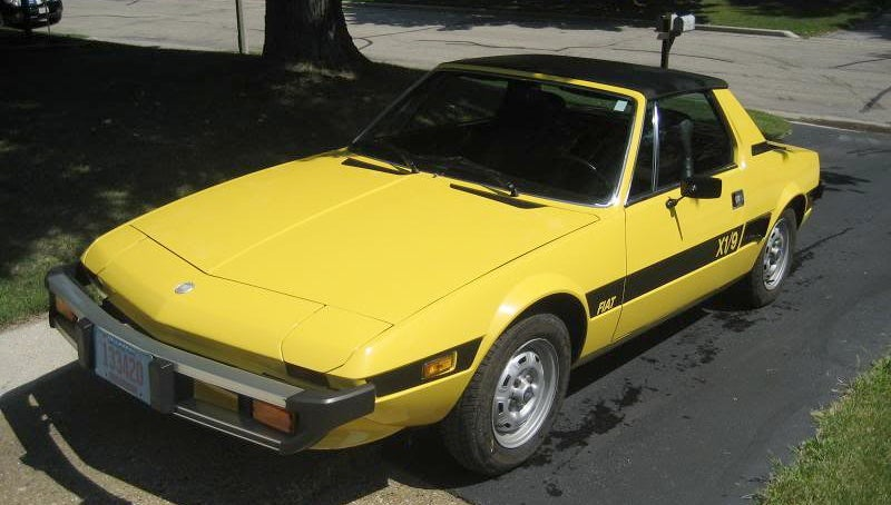 for 6 500 this 1976 fiat x1 9 could be your wedge issue. Black Bedroom Furniture Sets. Home Design Ideas