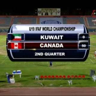 Illustration for article titled Canada Destroys Kuwait In Under-19 Football, 91-0