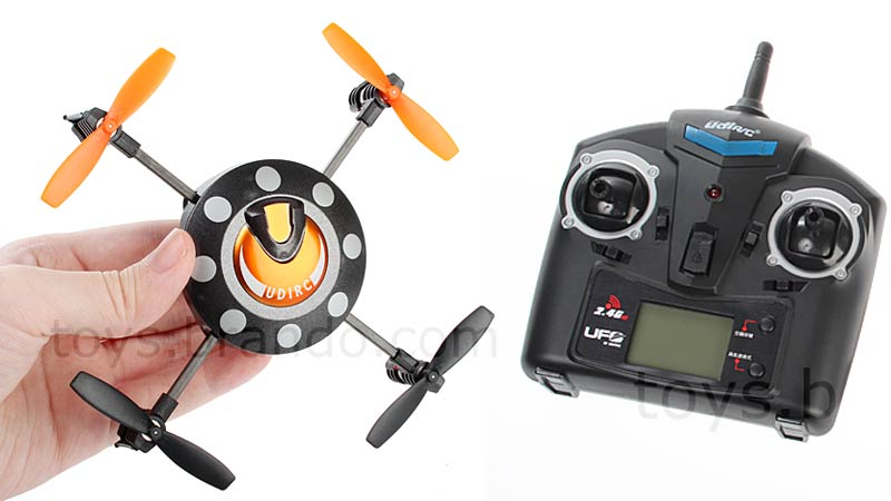 Illustration for article titled A Tiny RC Drone You Can Almost Stash In a Pocket