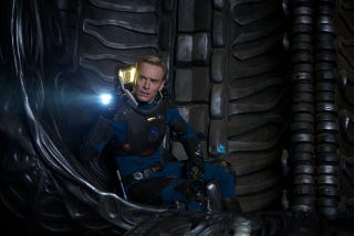 """Illustration for article titled Prometheus' Michael Fassbender, and First Look at the Rated """"R"""" Ticket!"""
