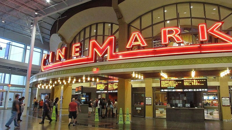 Respect FTW: Cinemark Theatres Is Offering An Additional 10% Off To