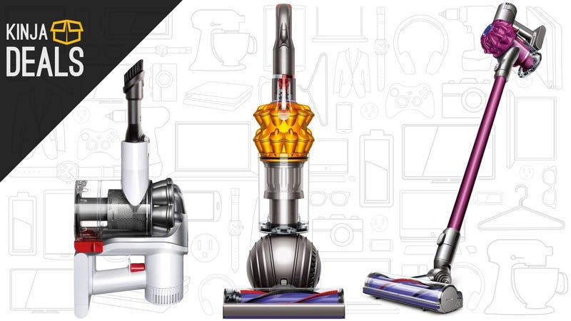 Illustration for article titled You Have to Vacuum Anyway, So Upgrade to a Dyson While They're Cheap