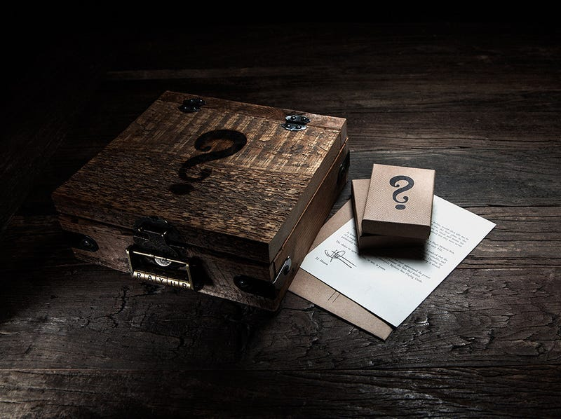 Illustration for article titled Mysterious Boxes, Bottles And Playing Cards By JJ Abrams