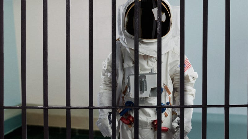 Illustration for article titled A New Frontier: NASA Has Sent An Astronaut To Prison