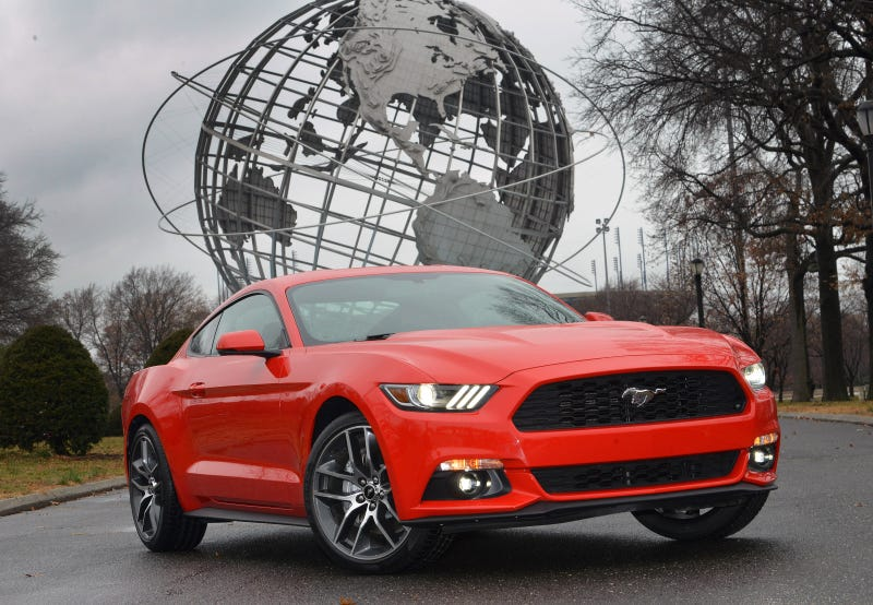 Illustration for article titled Why All Of Europe Will Love The 2015 Ford Mustang