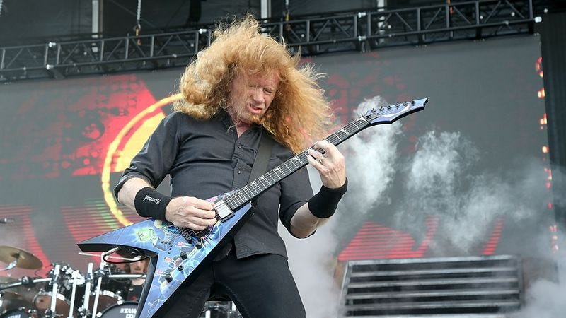 Dave Mustaine (Photo: Getty Images/Gary Miller)