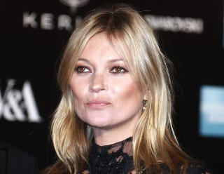 Illustration for article titled Kate Moss Calls Pilot 'Basic Bitch,' Gets Kicked Off Plane