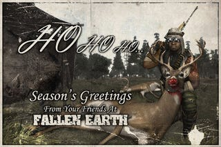 Illustration for article titled Happy Holidays From Fallen Earth