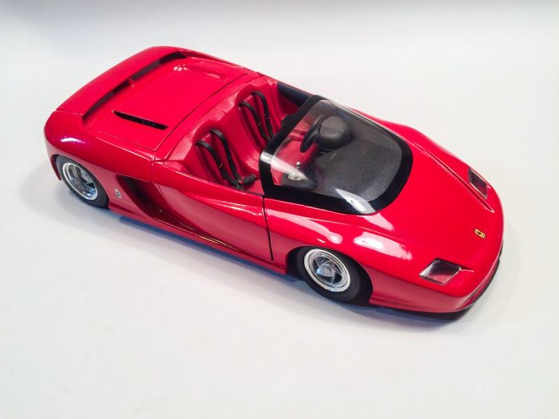 Illustration for article titled Revell 1/18 Ferrari Mythos