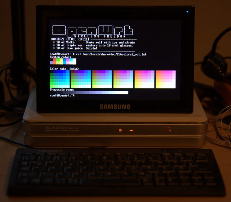 Linux's DisplayLink Drivers Turns Routers into Functional PCs