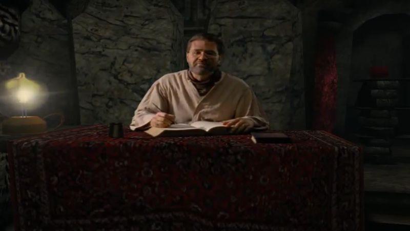 Rand Miller as Atrus, in Myst
