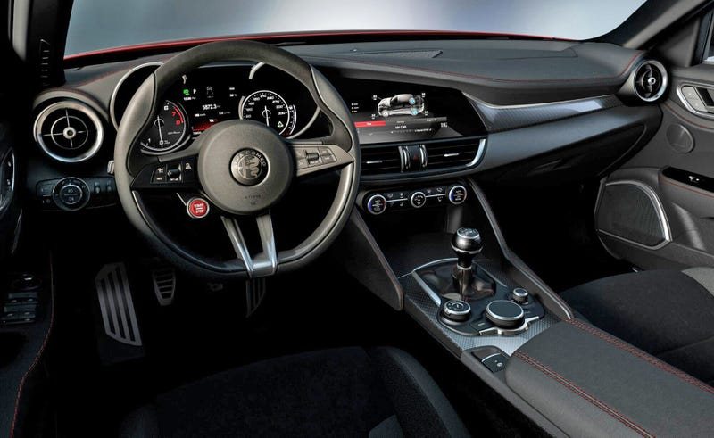 Thank Sweet Baby Jesus The New Alfa Romeo Giulia Has A Manual