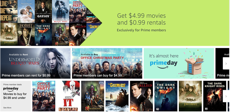 amazon prime day movie sale - Amazon Prime Christmas Movies