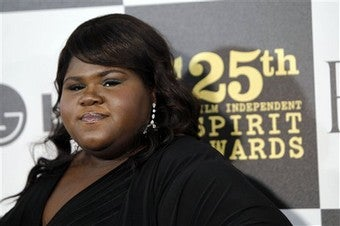 "Illustration for article titled Gabby Sidibe Is ""Big"" ... Compared To ""Abnormally Tiny People"""