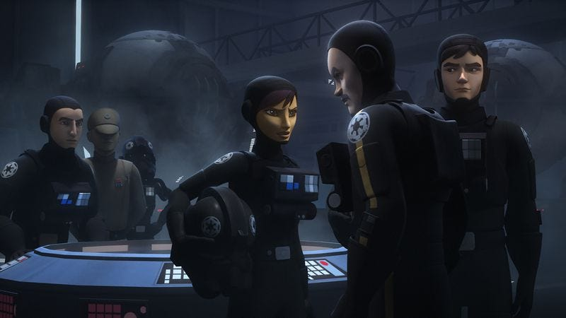 Illustration for article titled Star Wars Rebels starts off slow but kicks it into high gear as the stakes are raised