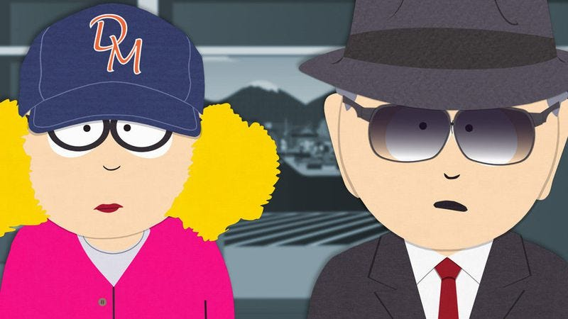 Illustration for article titled The enemy remains a mystery in this season's penultimate episode of South Park