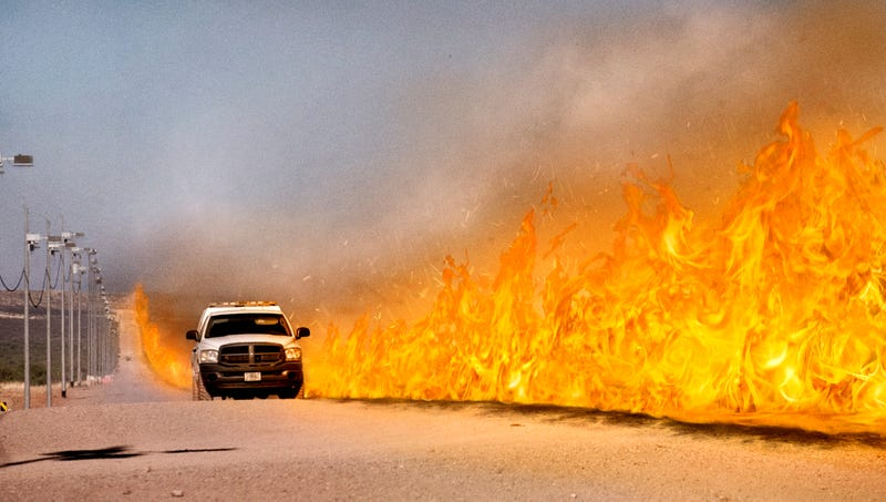 Illustration for article titled Entire Southern Border Somehow On Fire 10 Minutes After Kushner Begins Tackling Immigration System