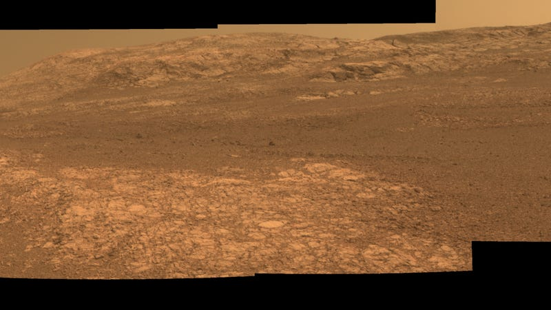 Mars' Perseverance Valley, seen by the Opportunity rover.