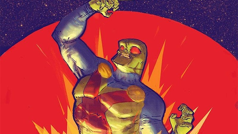 The cover of Martian Manhunter #1.
