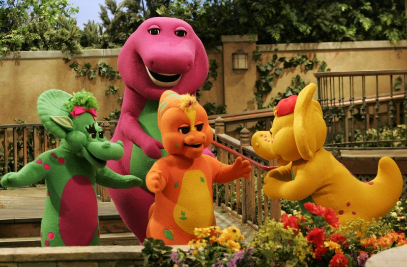 Photo: AP (Barney...and friends).