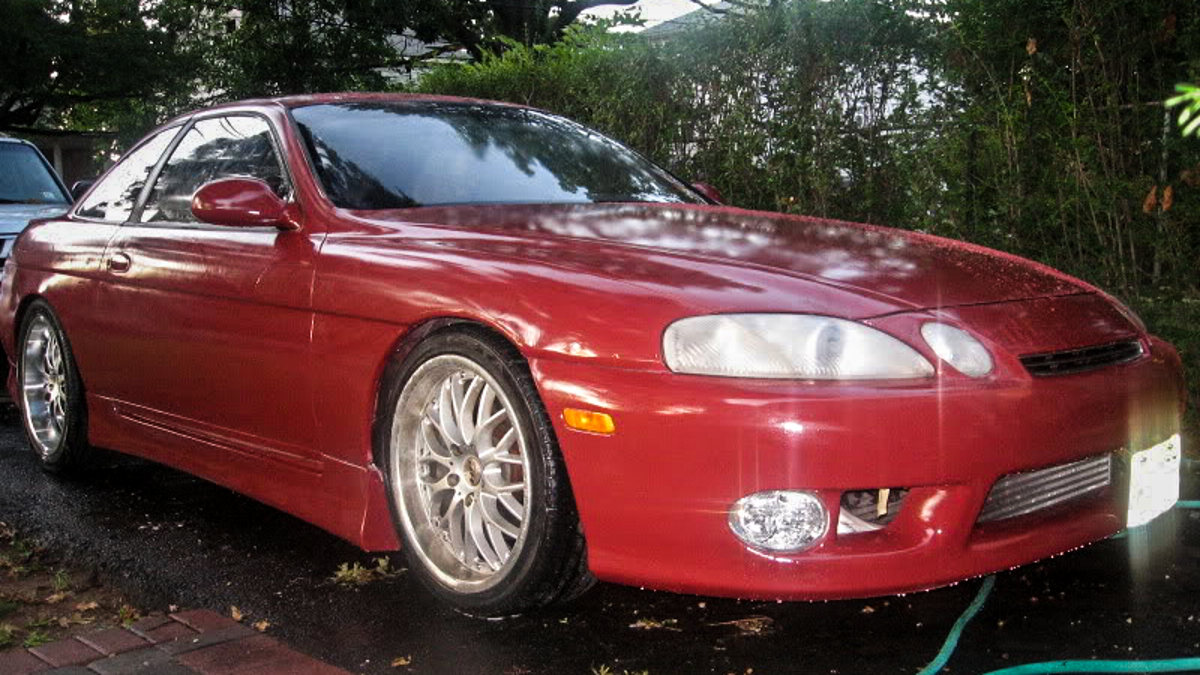 Here's How I Painted My $400 Lexus SC300 With Zero Experience