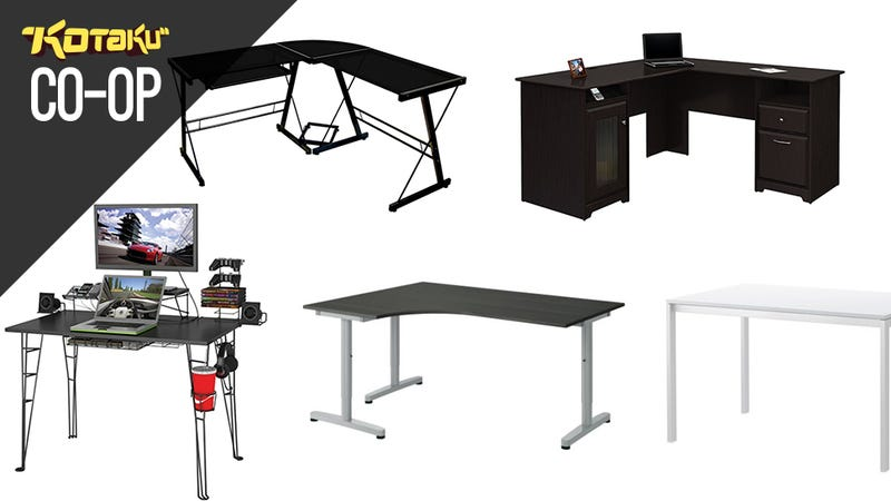 Illustration for article titled Five Best Desks For Gaming