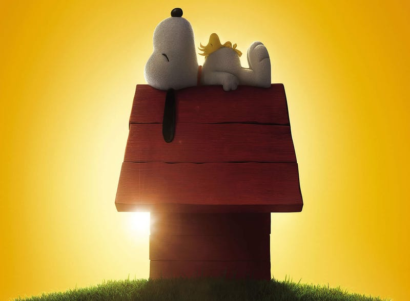 Illustration for article titled Snoopy looks so good in this movie poster