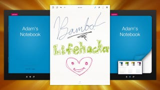 Illustration for article titled Bamboo Paper Is a Handwritten Notebook on Your iPad