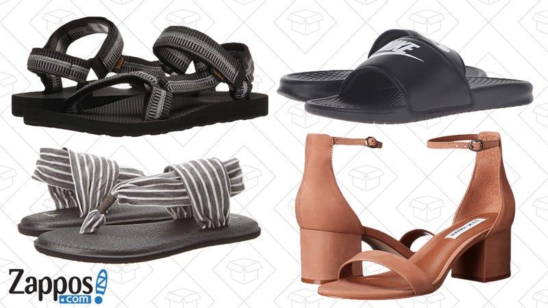 Zappos End of Season Sandal Sale