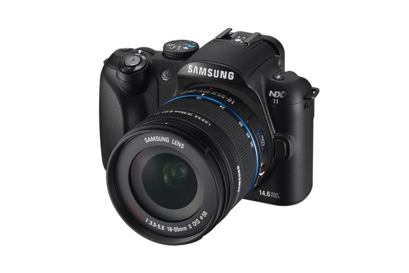 Illustration for article titled Samsung's NX11 Moves the Controls to the Lens