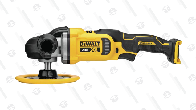 Make Everything Shine for Less With $73 off DEWALT's 20V MAX XR Cordless Rotary Polisher