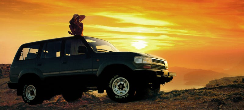Illustration for article titled The Only Car In The World Is The Toyota Land Cruiser FJ80