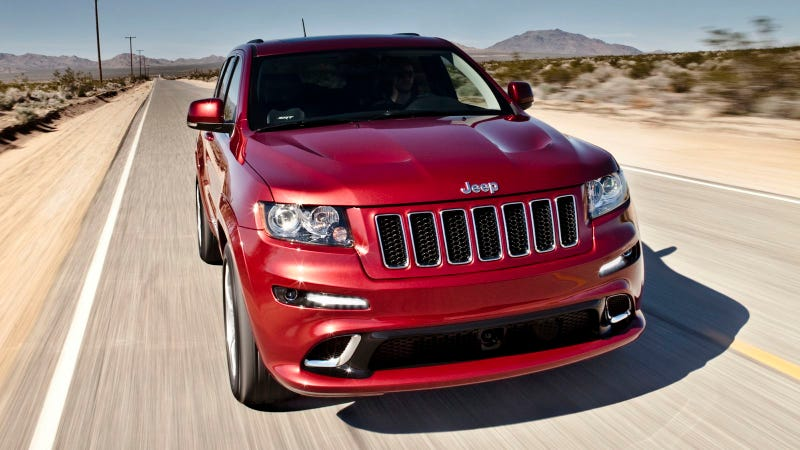 Illustration for article titled The 2012 Jeep Grand Cherokee SRT8's still a super-powered Sarge