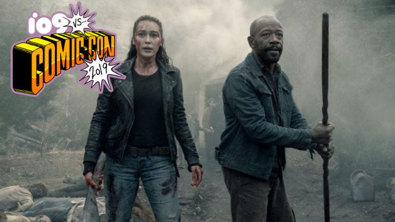 The zombie apocalypse rages on on Fear the Walking Dead.