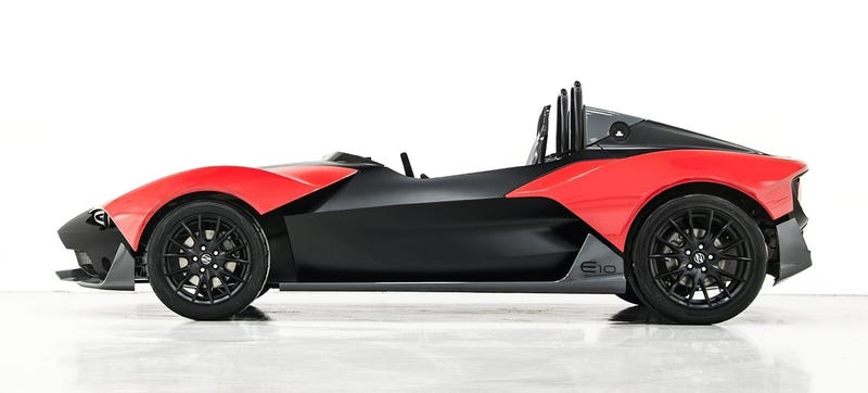 Illustration for article titled This Recycled Carbon Fiber Track Car Is The Stuff F1 Is Made Of