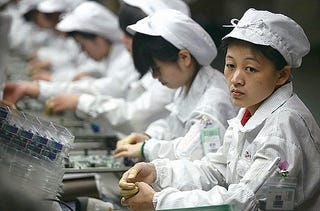 Illustration for article titled Foxconn Workers Offered 66 Percent Raise