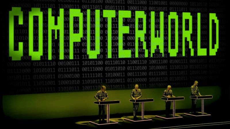 Illustration for article titled Kraftwerk to release extensive multimedia documentary of its 3-D tour