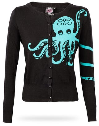 Illustration for article titled Can someone please talk me out of buying this octopus sweater?