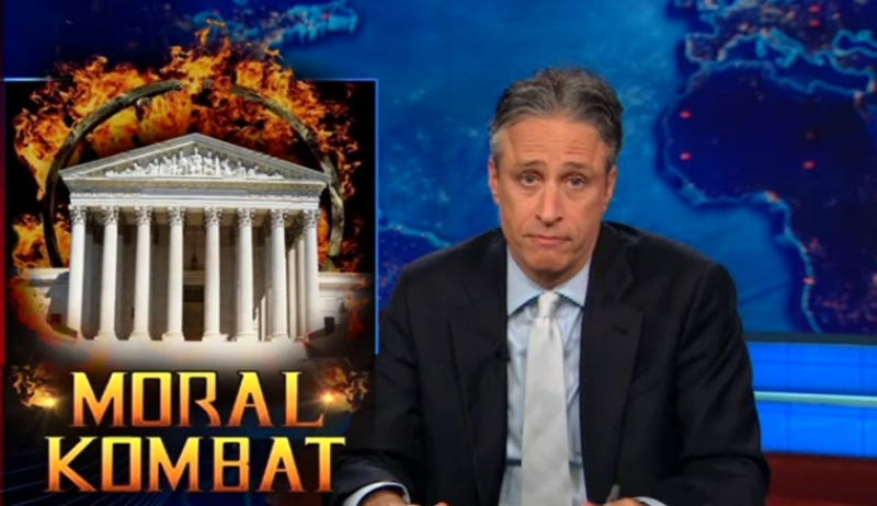 Illustration for article titled The Daily Show Attacks Video Games In Light of Supreme Court Decision