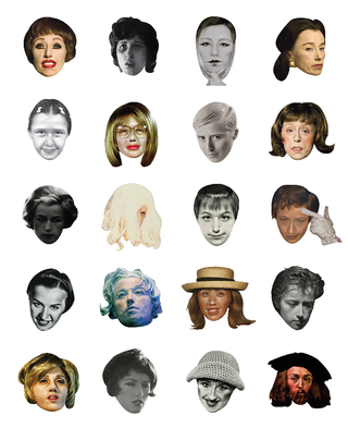 Illustration for article titled These Cindy Sherman Emoticons Are Perfect