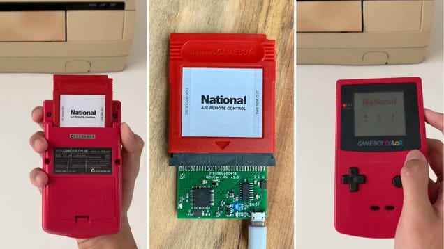 Controlling an Air Conditioner Might Be the Least Exciting Game Boy Game Ever Created
